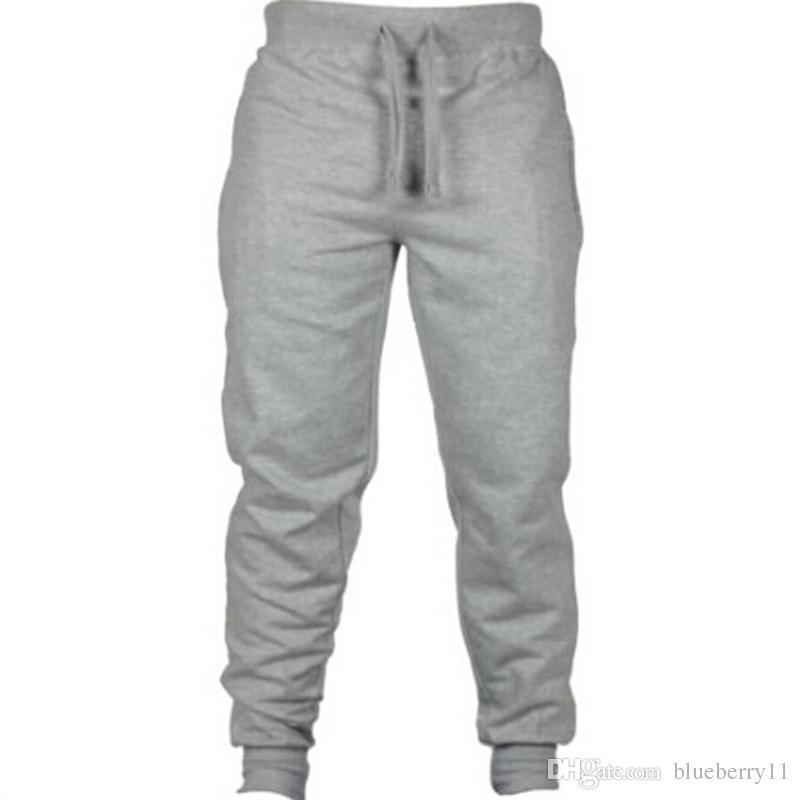 Yeni Moda Harem Pantolon Ter Pantolon Erkekler Pantolon Jogger Pantolon Chinos Sıska Joggers ücretsiz kargo