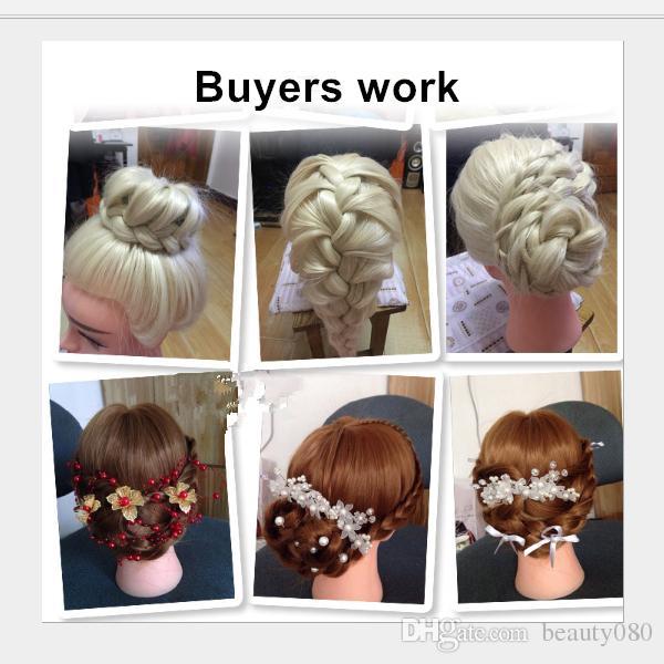 T-14 strumenti lo styling testa del Mannequin saloni di pratica parrucchiere Dolls Formazione capo o il trucco il trasporto libero