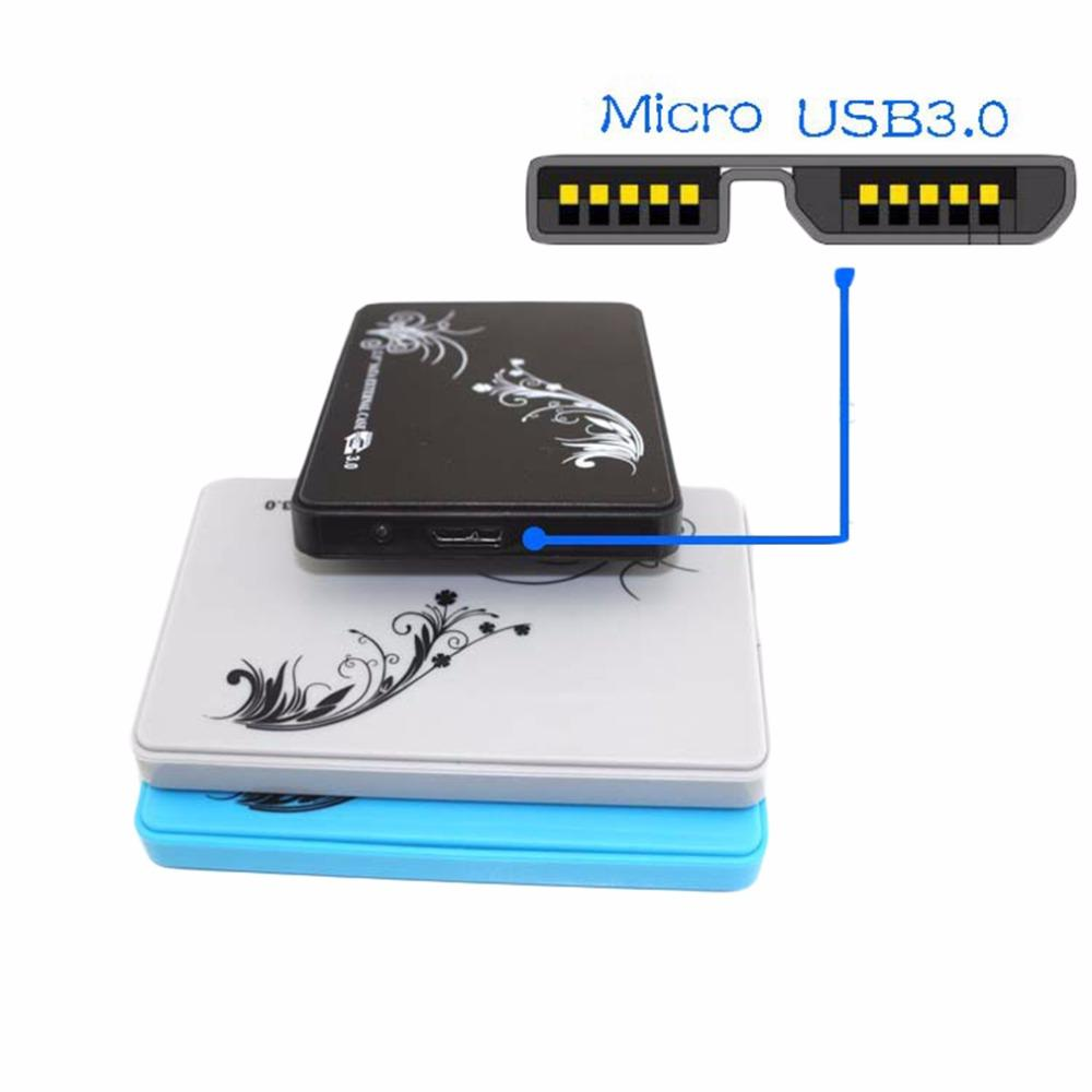 2018 Wholesale 25 Inch Hdd Case Usb30 External Hard Drive Disk Pouch Harddisk Enclosure High Speed Transmission Up To 5gbps From Adtison 4124