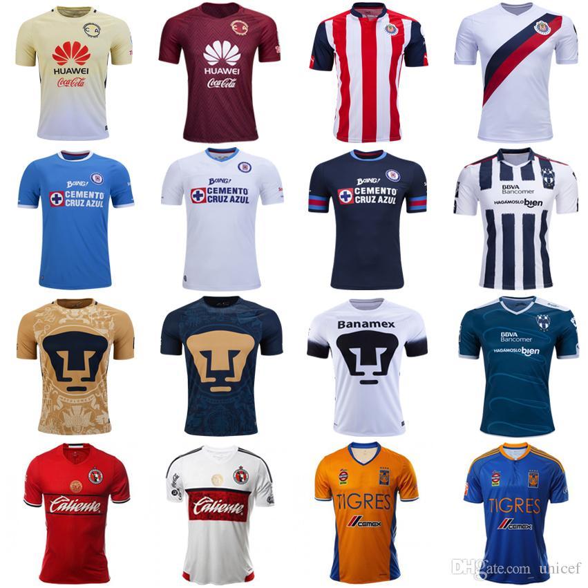 cruz azul soccer club jersey caqui