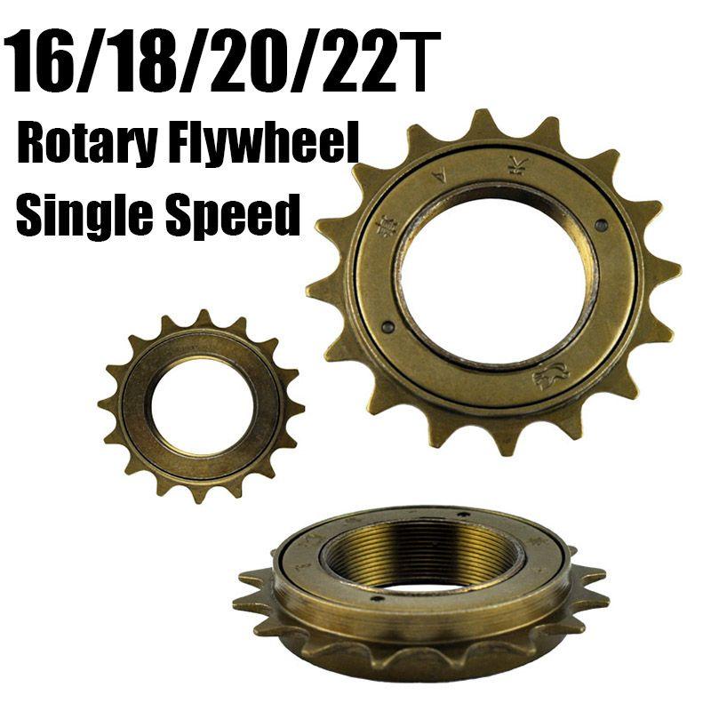 Heißer verkauf fahrrad frei festrad 16 t 18 t 20 t 22 t single speed schwungrad 16 zahn drehfreier rad