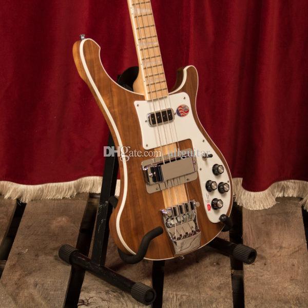 legno naturale NUOVO 4003 Bass un pezzo corpo del basso collo Electric Bass cinese