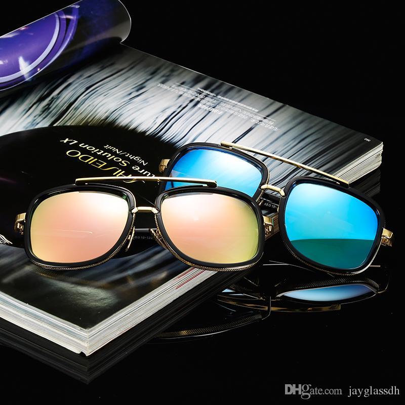 4eef331c4c0 Brand Design Fashion Men Sunglasses Popular Square Unisex Colorful Sun  Glasses Classic Travel Party Outdoor Vintage Sunglasses Wholesale John  Lennon ...