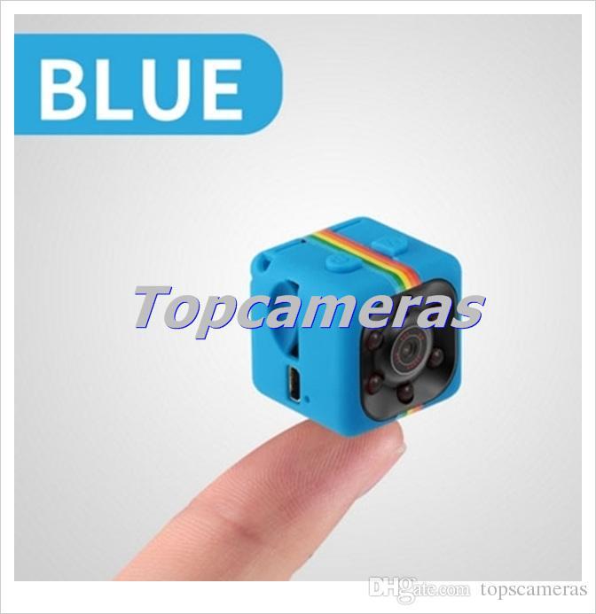 Mini DV SQ11 HD 1080 P 720 P DV Gravador de Vídeo de Voz IR Infravermelho Night Vision Digital Pequena Câmera filmadora