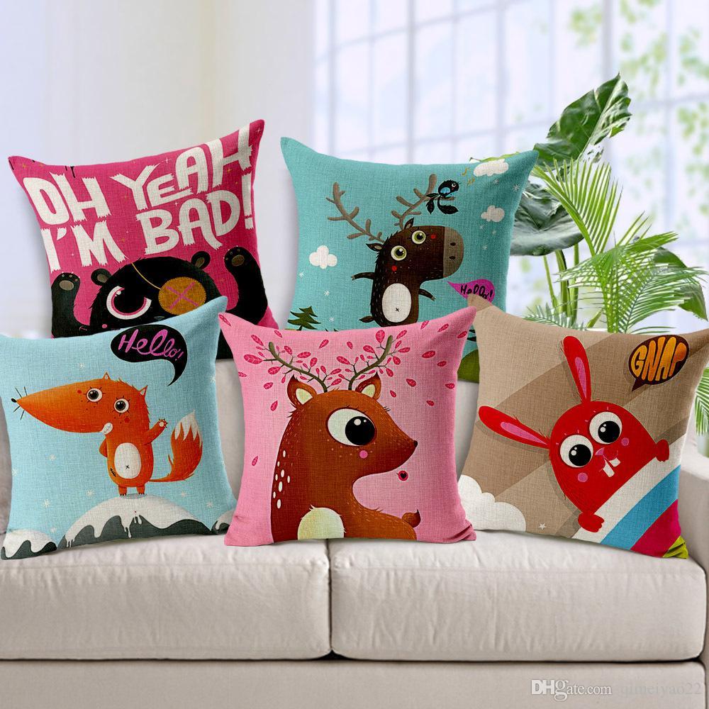 Cartoon Pillow Cases Home Decorative For Pillowcase Hand ...