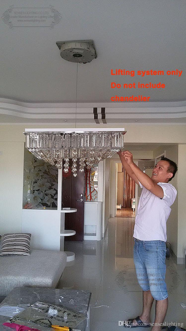 Auto remote controlled crystal chandelier hoist chandelier winch auto remote controlled crystal chandelier hoist chandelier winch descending system ddj50 max rated chandelier hoist chandelier winch chandelier lift online arubaitofo Gallery
