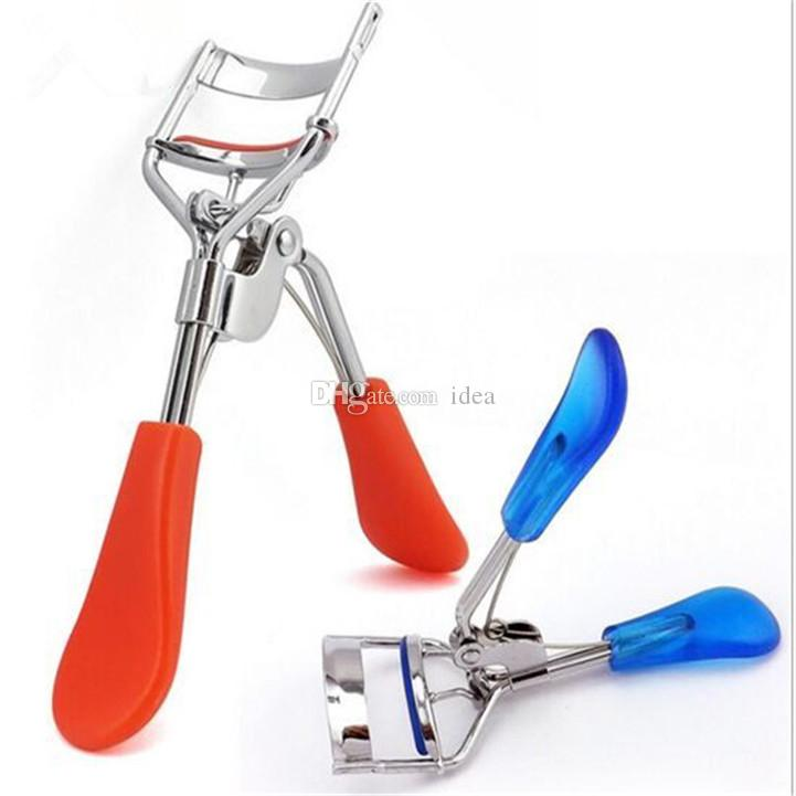 Hot Fashion Makeup Eye Curling Eyelash Curler with / without Comb Eyelash Curler Clip Beauty Tool Stylish DHL Free Ship