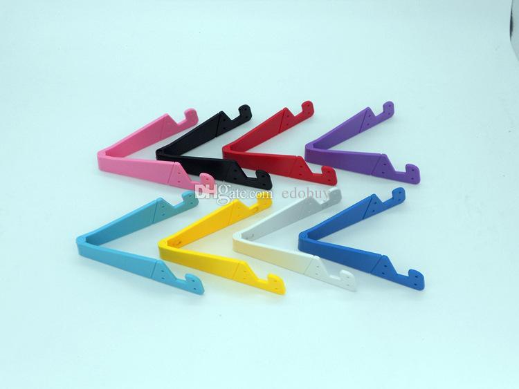 v shape mobile phone holder Desk Station Plastic Stand Holder For iPhone 7 6 plus 5 4 for samsung