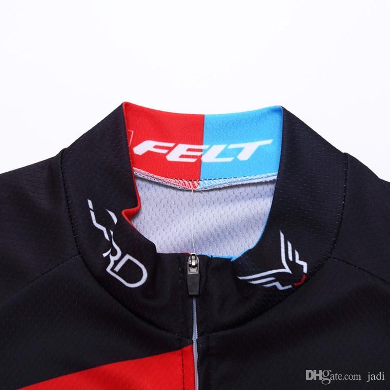 2017 FELT ciclismo jersey in gel pad pantaloncini bici Ropa Ciclismo quick dry pro abbigliamento da ciclismo uomo estate bicicletta Maillot
