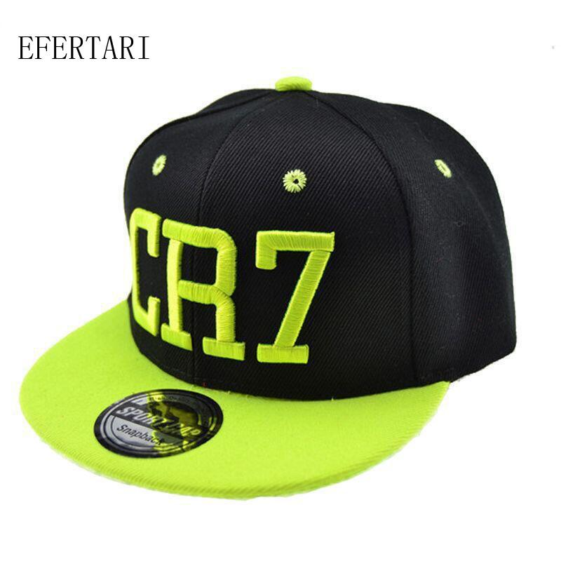2019 Wholesale New Cristiano Ronaldo CR7 Black Baseball Caps For Child Boys  And Girls Kids Hip Hop Sports Snapback Hat For 5 12 Years From Heheda5 5787408516a9