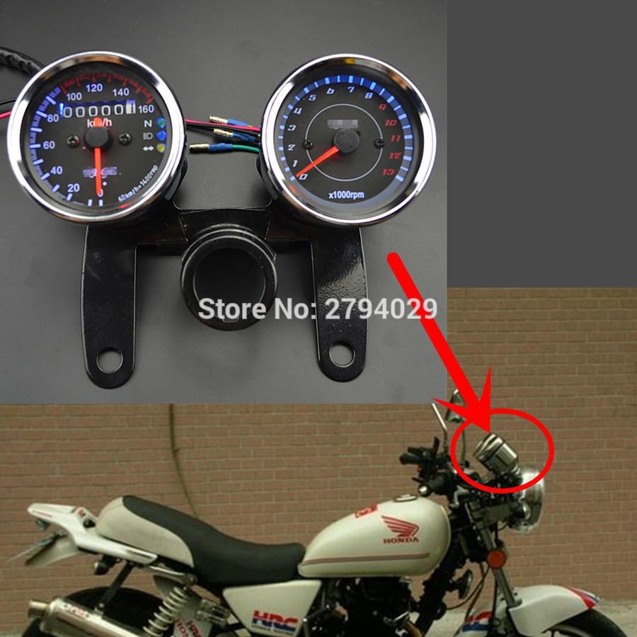 2019 universal motorcycle tachometer speedometer speedo meter tacho rh dhgate com
