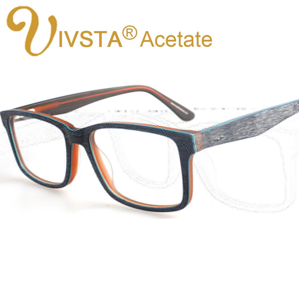 f718b09e554 2019 Wholesale IVSTA Handmade Real Acetate Optical Frame Men Wood Glasses  Brush Women Clear Nose Pad Wooden Eyewear Black Myopia Lense 3277 From  Juaner