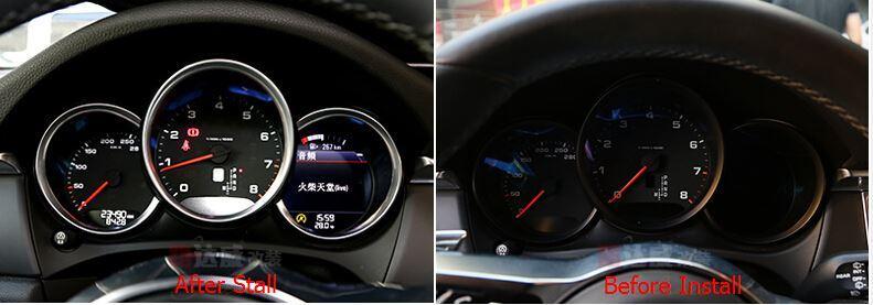 car dashboard decoration cover trim for porsche macan (2)