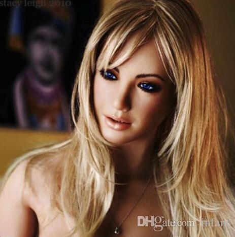 セックス人形男性の膨脹可能なワンピックの吹き上げセックス人形人形の王女のスーパーモデルブロンドの髪、柔らかいシリコーンの本物の人形