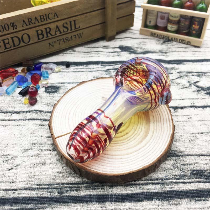Pipe 2.7 inchs lunghezza 48g tubi di vetro tubi mano Bubblers nuovo arrivo con spedizione gratuita