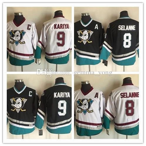 info for ea030 78f3f purchase anaheim ducks 8 teemu selanne black kids jersey ...