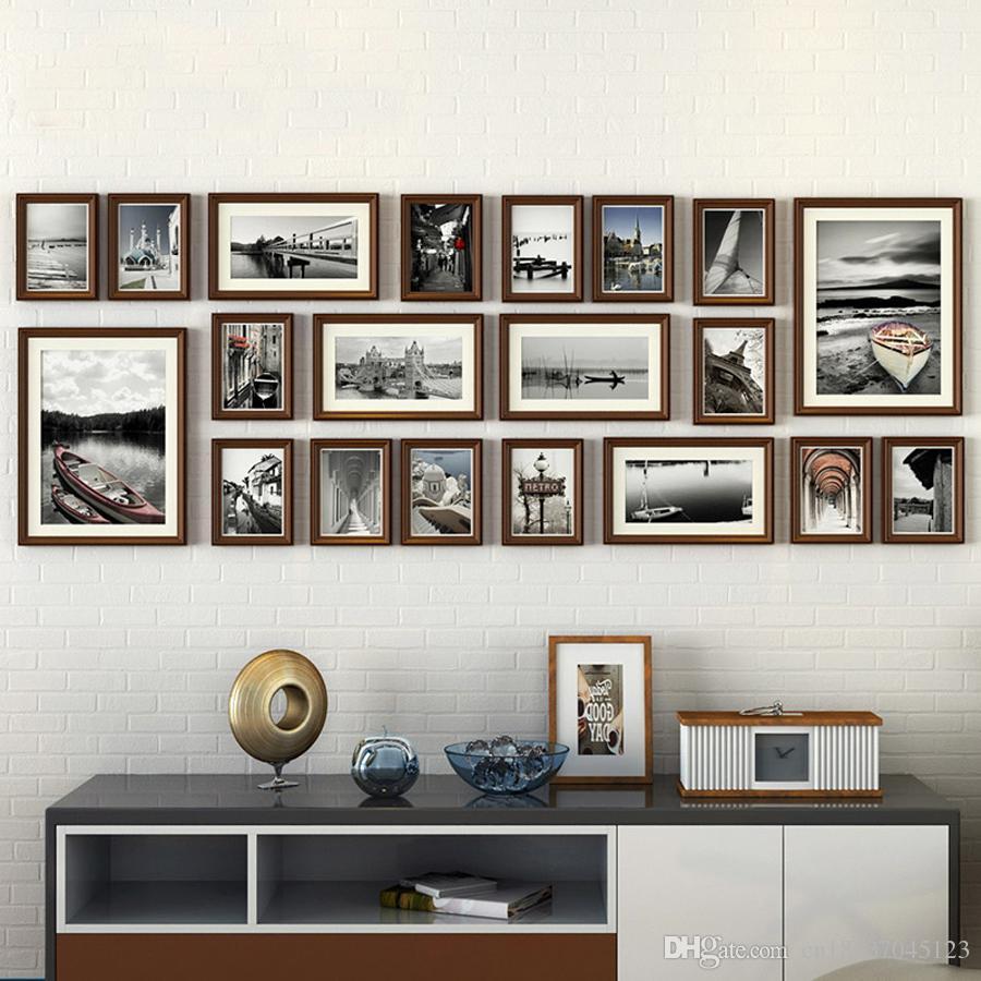 Compre 20 Unids / Set Marco De Foto De Estilo Europeo Vintage ...