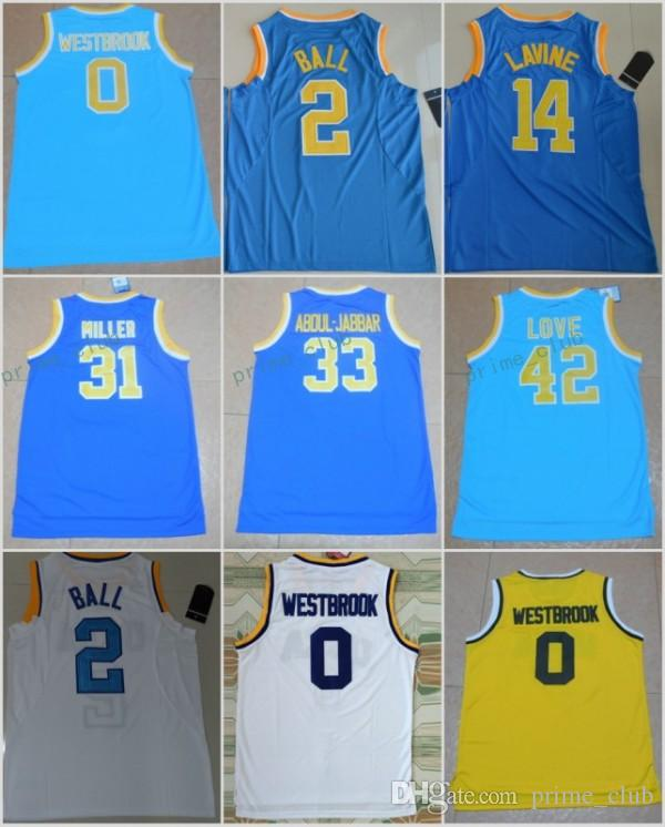 premium selection 50d8e 43928 ucla bruins 14 zach lavine blue basketball stitched ncaa jersey