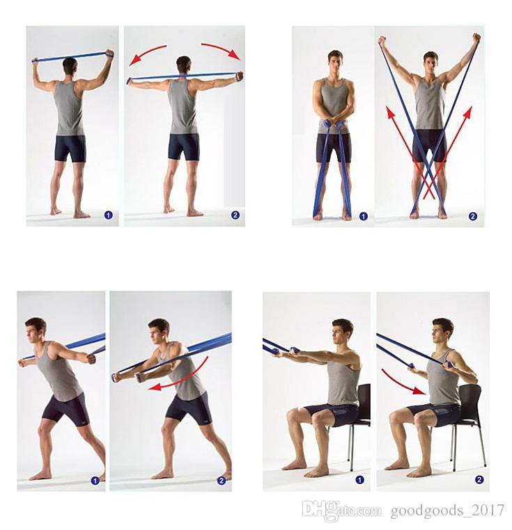 Fasce di resistenza ausiliaria Fitness Yoga Rally Strip Balletto con Stretch Dance Cross One Horses Bambini Dance Practice Fitness Equipment M976