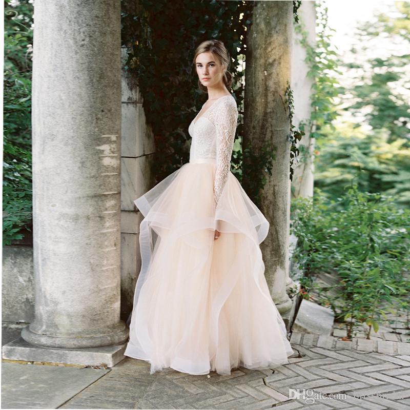 Jupes longues élégantes robes de mariée pour la mariée magnifiques volants à plusieurs niveaux épaisses organza dame jupes pour jupe longue