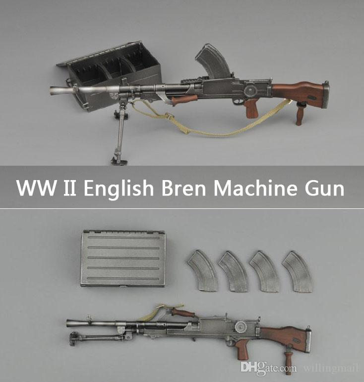2019 upgrade ww ii english army bren light machine gun toy with ammo rh dhgate com