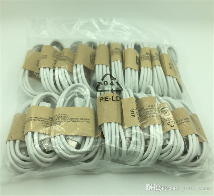 New V8 Micro Charger USB Cable Date line Sync Charging Cord Lead cables 1m 3ft with retail box for Samsung Galaxy S3 S4 Note 2 S5 S6 S7 edge