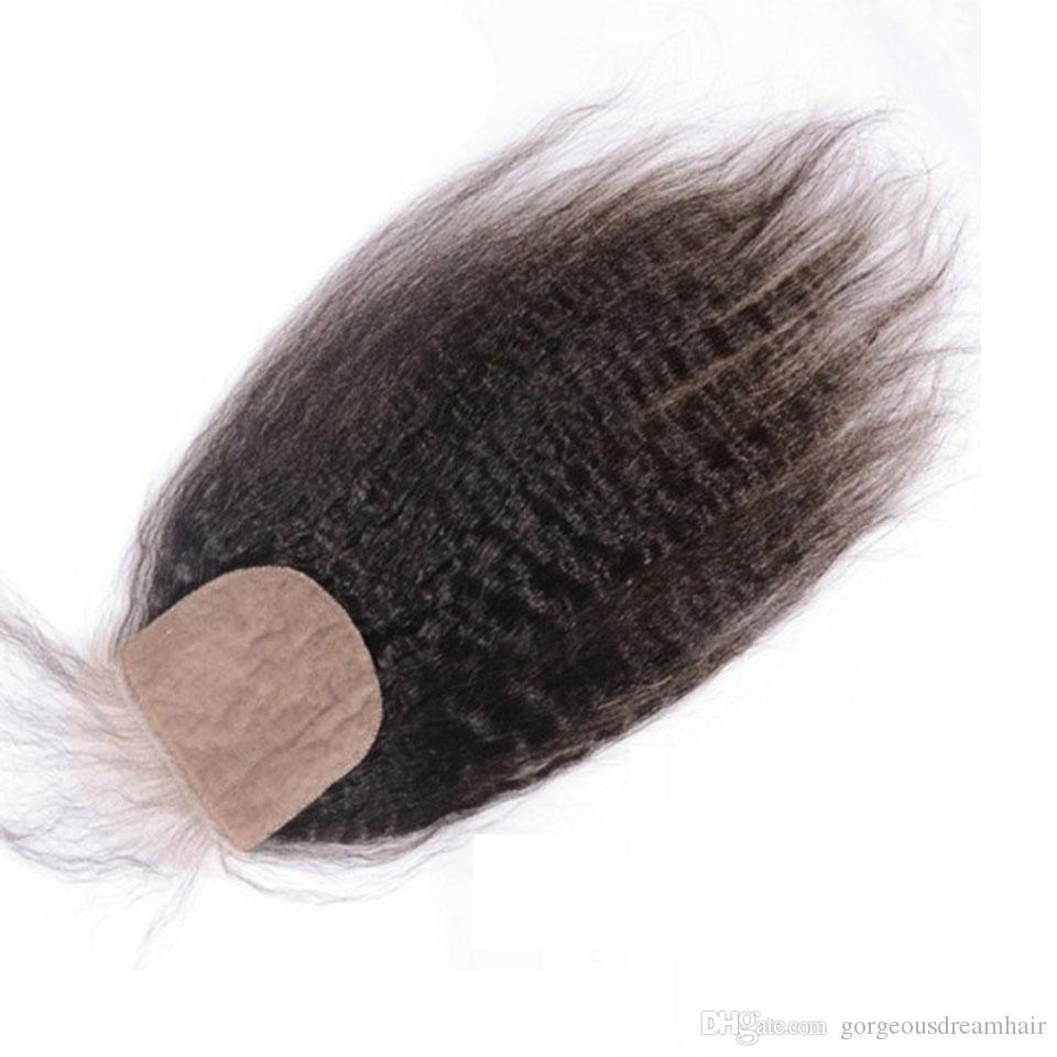 Haarverlängerung Und Perücken Salonpackung-haarbündel Funmi 3 StÜcke Mongolischen Afro Bundles Mit 13x4 Inch Spitze Frontal Menschenhaar Verworrene Lockige Mongolisches Reines Haar Für Salon Haar
