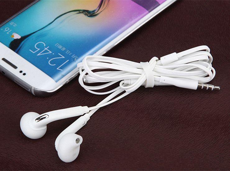 In-Ohr-Kopfhörer-Kopfhörer-Weiß 3.5mm mit Mic Bass Earbuds Bester Qualitätskopfhörer für Rand S4 S3 des Samsung-Galaxie-EG920 S6 S7 S8