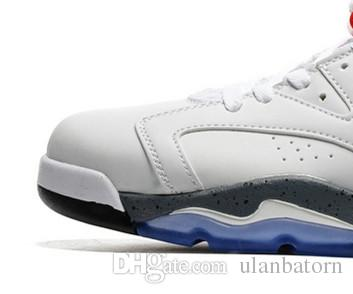 new 6 mens sport shoes white red black VI 6s boy sneakers wholesale online good quality sale