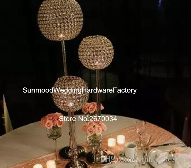 crystal wedding centerpieces for aisle decor silver wedding rh dhgate com