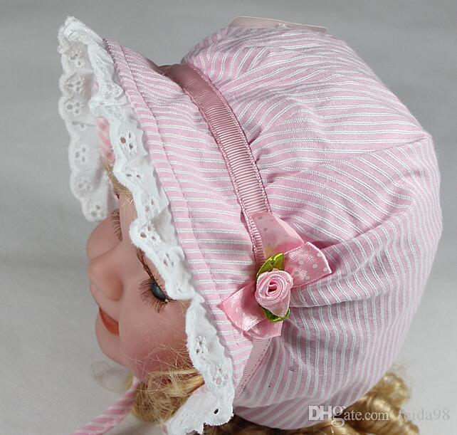 Primavera e no Outono chapéu de algodão do bebê chapéu de sol cap crianças chapéu do bebê