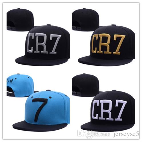 8064b1e5287 2019 New Fashion Cristiano Ronaldo CR7 Black Blue Baseball Caps Hip Hop  Sports Snapback Football Hat Chapeu De Sol Bone Men Women From Jerseyse5