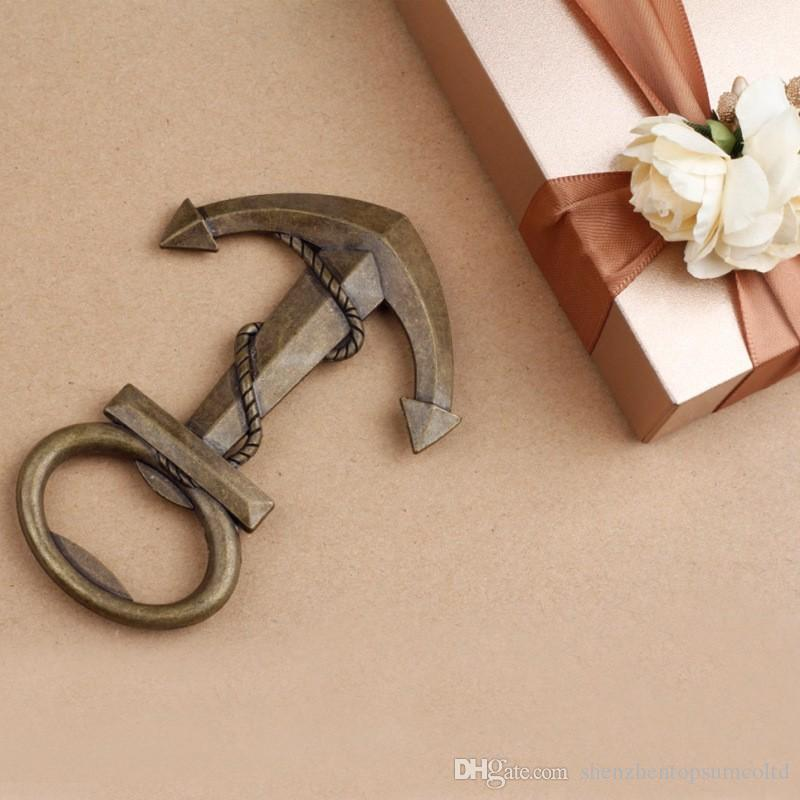 Nautical Boat Anchor Bottle Opener Wedding Party Shower Favors Present Gift