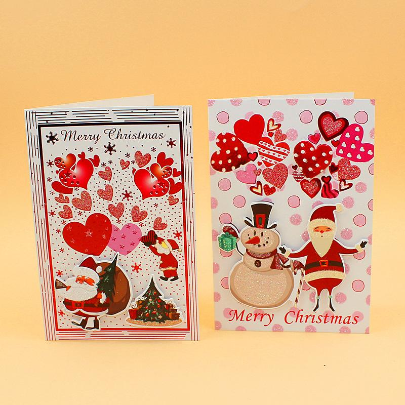 Zg108 wholesale christmas card set christmas greeting card new zg108 wholesale christmas card set christmas greeting card new creative message blank blessing message card with envelope send card send cards from m4hsunfo