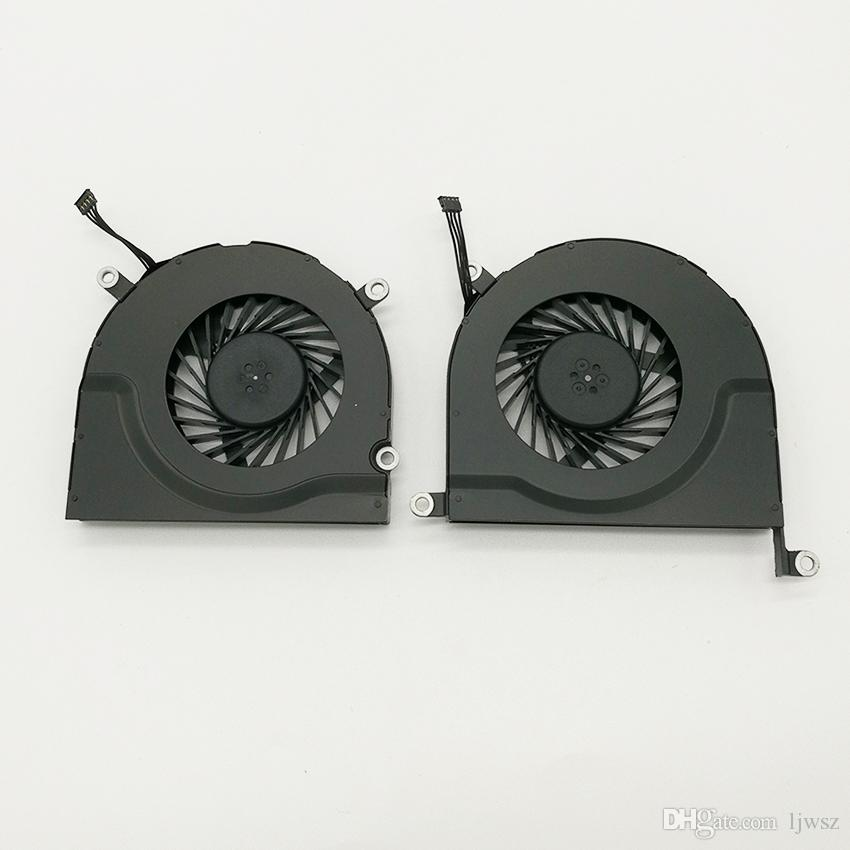 "laptop CPU cooling fan For Apple macbook pro 17"" MC226 mc227 A1297 MC024 MC725 MC110 mb604 KSB0605HC 9H2B 8L1A"