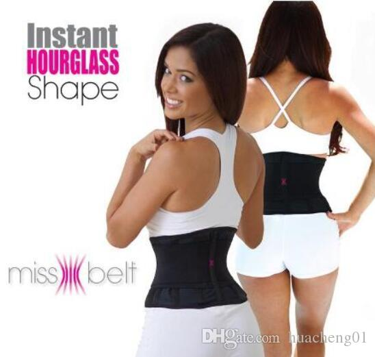 6869e24ac9 Miss Belt Waist Training Belt Instant Hour Glass Shape Waist Girdle Cincher  Tummy Body Shaper Fitness Slimming Belt with Box Package by DHL Miss Belt  ...