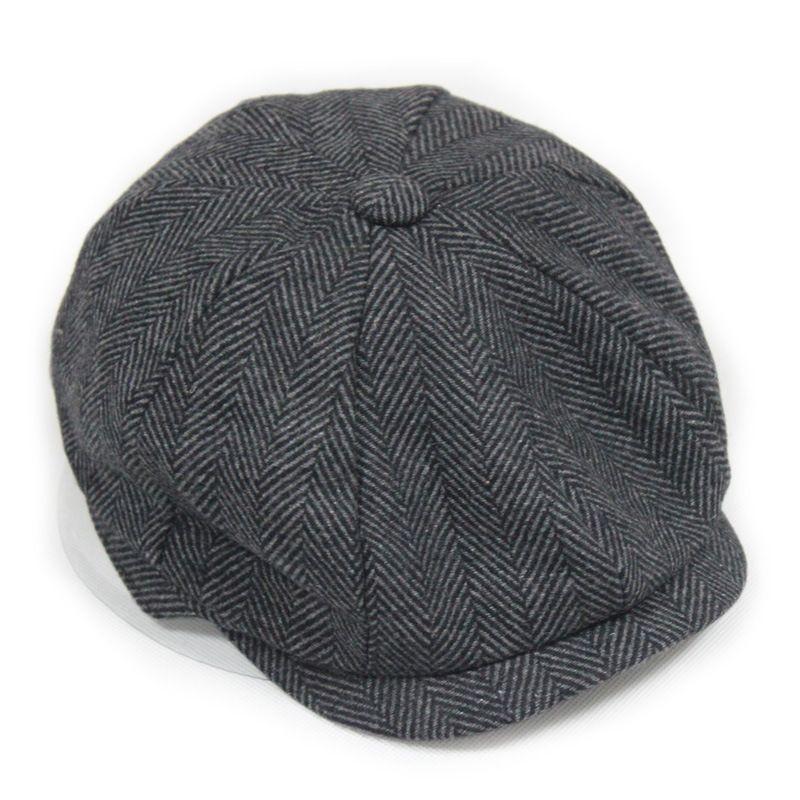 798f6d7c Fashion Octagonal Cap Newsboy Beret Hat Autumn And t