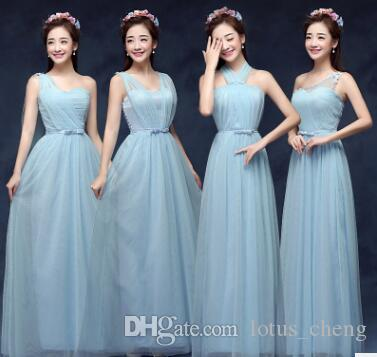 New Long Dress Wedding Gown Wedding Dress Female Lace Up Bridesmaid ...