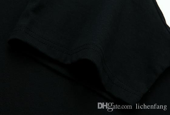 뜨거운 2017 여름 패션 힙합 디자인 T 셔츠 남자의 고품질 사용자 정의 인쇄 탑스 Hipster 티