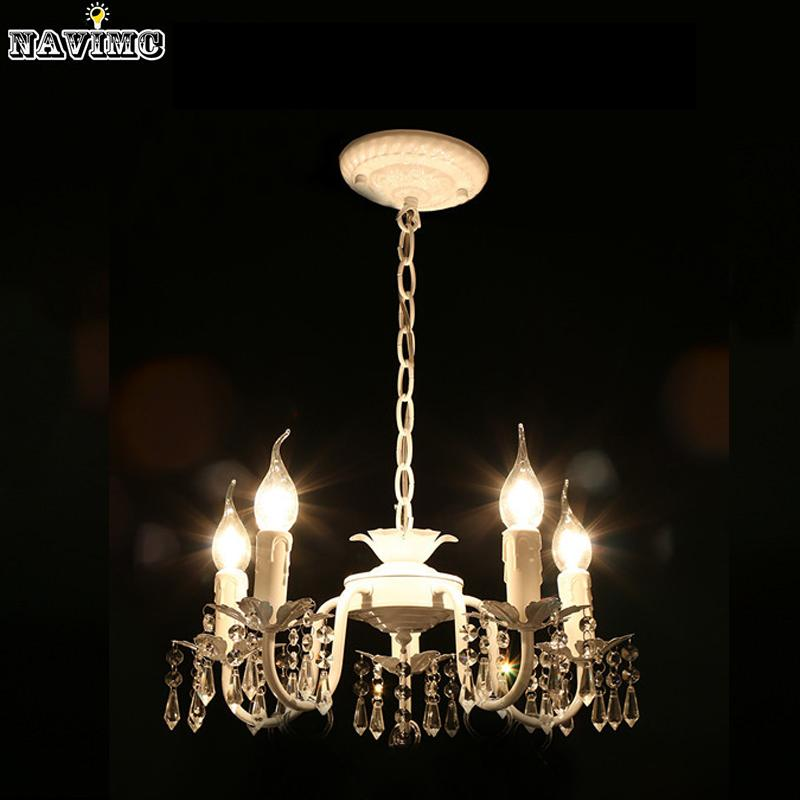 white iron crystal chandelier modern lighting fixture for girls rh dhgate com