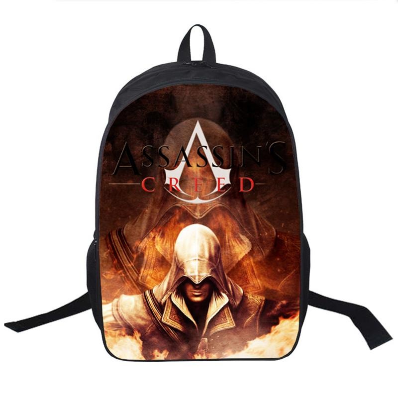 Wholesale Assassin S Creed Backpack For Teenagers Children School Bags Boys  Assassins Creed School Backpacks Men Daily Bag Women Backpack Osprey  Backpack ... 2ffa31575d