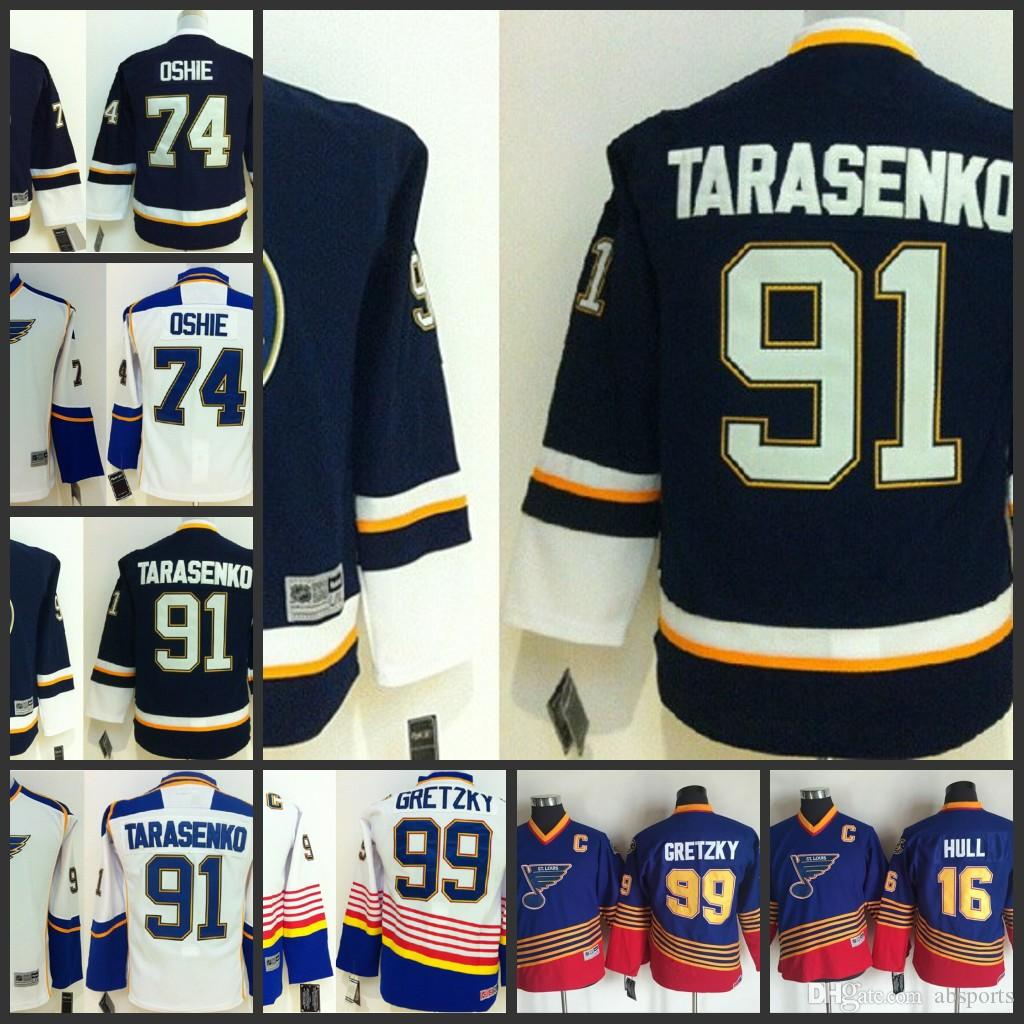 brand new d30b8 a5158 youth kids nhl jerseys st louis blues 91 vladimir tarasenko ...