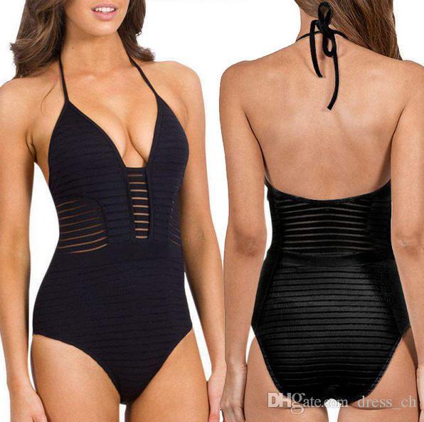 Women One Piece Bikini Monokini Push up Padded Swimsuit Bathing Suit Swimwear Beachwear Leotard