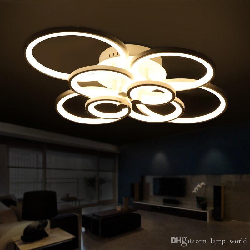 Remote Control Living Room Bedroom Modern Led