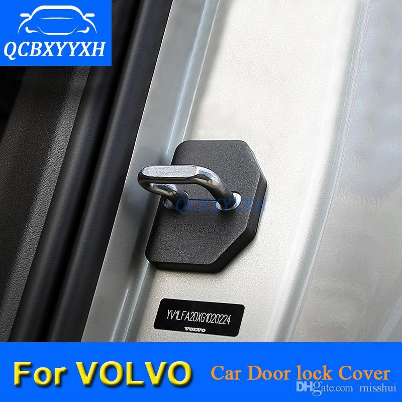 CAR Blokada drzwi Pokrywa ochronna dla Volvo S40 XC60 C30 S80 XC90 S90 V40 V60 S60 2012-2018 Drzwi samochodowe Dekoracja Auto Cover
