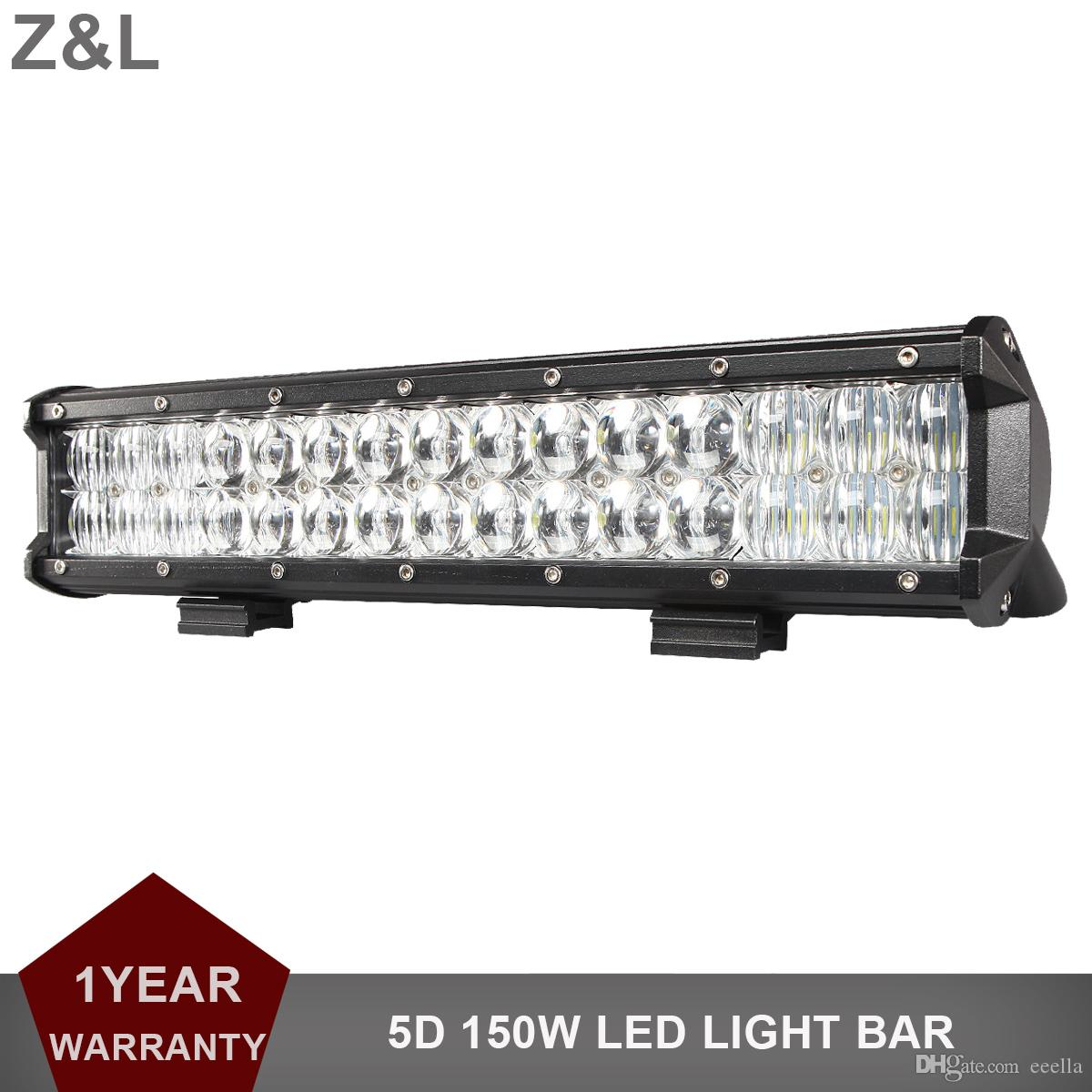 5d 150w 15\'\' Offroad Led Work Light Bar 12v 24v Car Pickup Auto ...