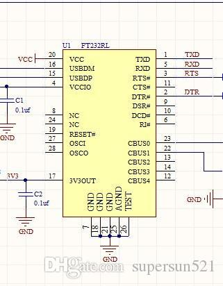 W5200 development board schematic w5200 stm32f103c8 ft232 w5200 schematic  file FT232 DIY Free Shipping