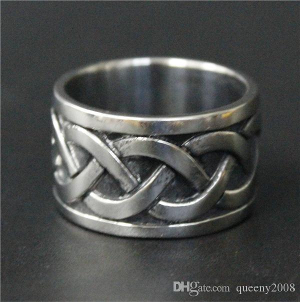 Fashion Jewelry Band Ring 316L Stainless Steel Polishing Silver Thor Hammer Ring