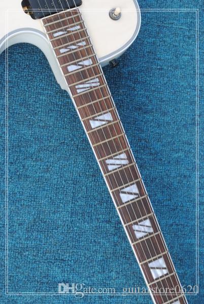 migliore chitarra elettrica bianca del negozio di abitudine degli strumenti musicali della porcellana Trasporto libero !!!