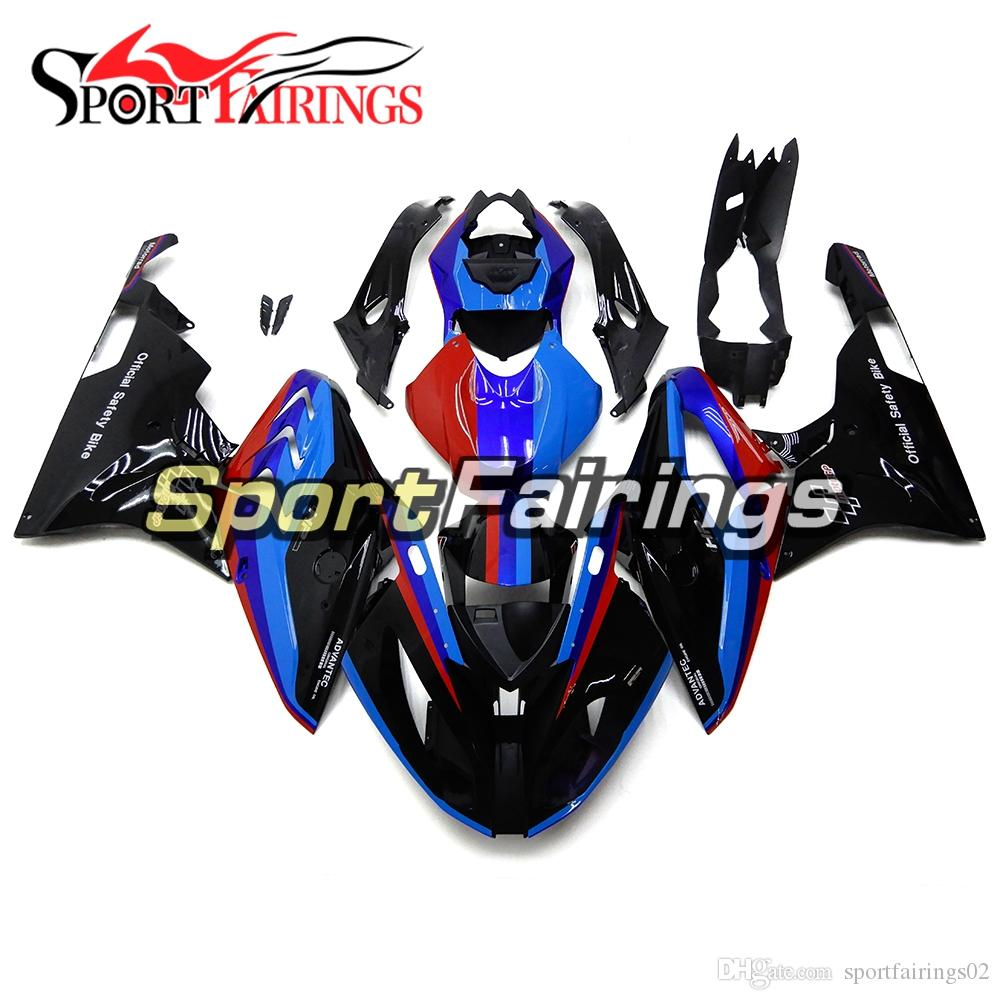 Blue Red Black Fairings For Bmw S1000rr 2015 2016 15 16 Injection